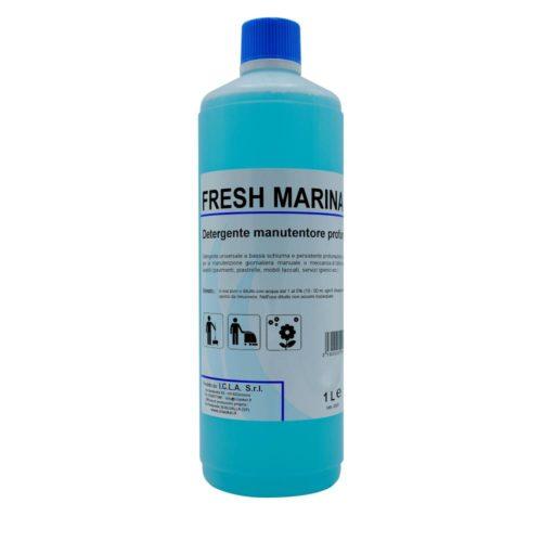I.C.L.A. OKEI - FRESH MARINA - Detergenti manutentori  1kg - Detergente universale a bassa schiuma e persistente profumazione specifico per la manutenzione giornaliera manuale o meccanica di tutte le superfici dure