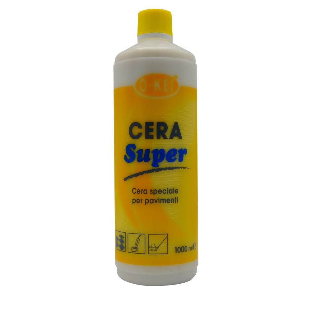 I.C.L.A. OKEI - CERA SUPER - Cere per pavimenti  1kg - Cera lucidabile profumata a base di cere pregiate per marmi e graniglie.