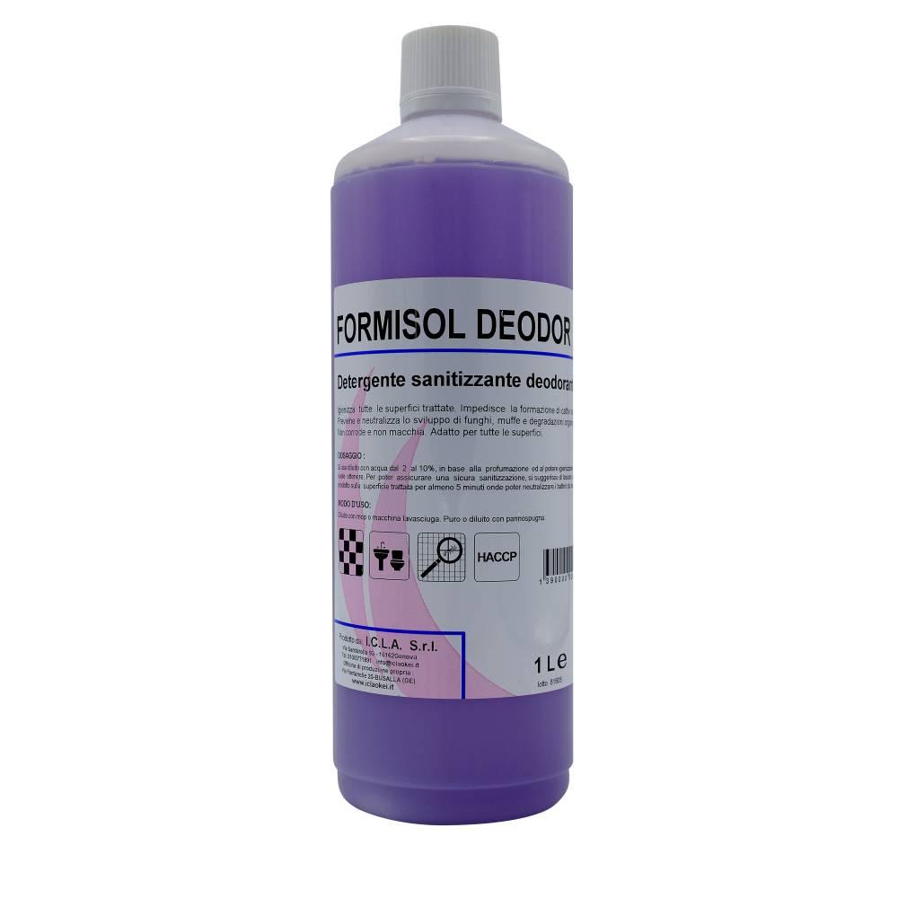 I.C.L.A. OKEI - FORMISOL DEODOR LAVANDA - Detergenti igienizzanti  1kg - Detergente sanificante profumato attivo nei confronti di microrganismi di vario tipo: batteri Gram+ e Gram-