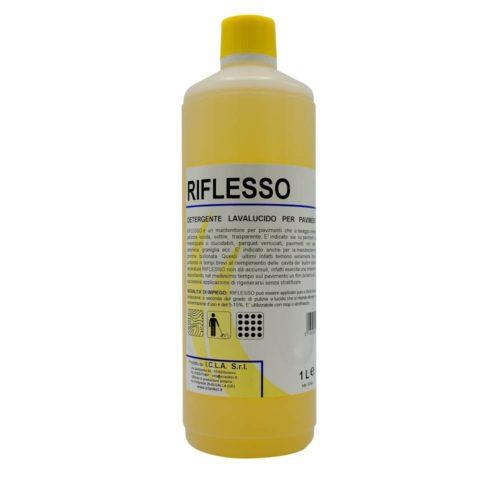I.C.L.A. OKEI - RIFLESSO - Cere per pavimenti  1kg - Detergente manutentore lavalucido per pavimenti. Deterge