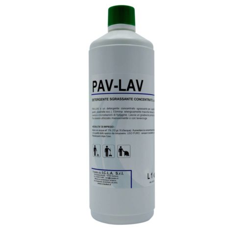 I.C.L.A. OKEI - PAV LAV VERDE - Pulizia di fondo  1kg - Detergente concentrato sgrassante per superfici dure con Pinecoiol. Elimina  energicamente macchie tenaci di oli minerali