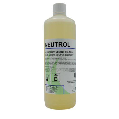 I.C.L.A. OKEI - NEUTROL - Sgrassatori e speciali  1kg - Detergente neutro concentrato con forte potere sgrassante. Indicato per la pulizia dei vetri con la stecca