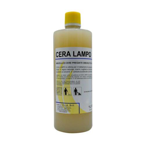 I.C.L.A. OKEI - CERA LAMPO - Cere per pavimenti  1kg - Protettivo a base di cere pregiate disciolte in solvente. Dona uno splendore caldo e satinato