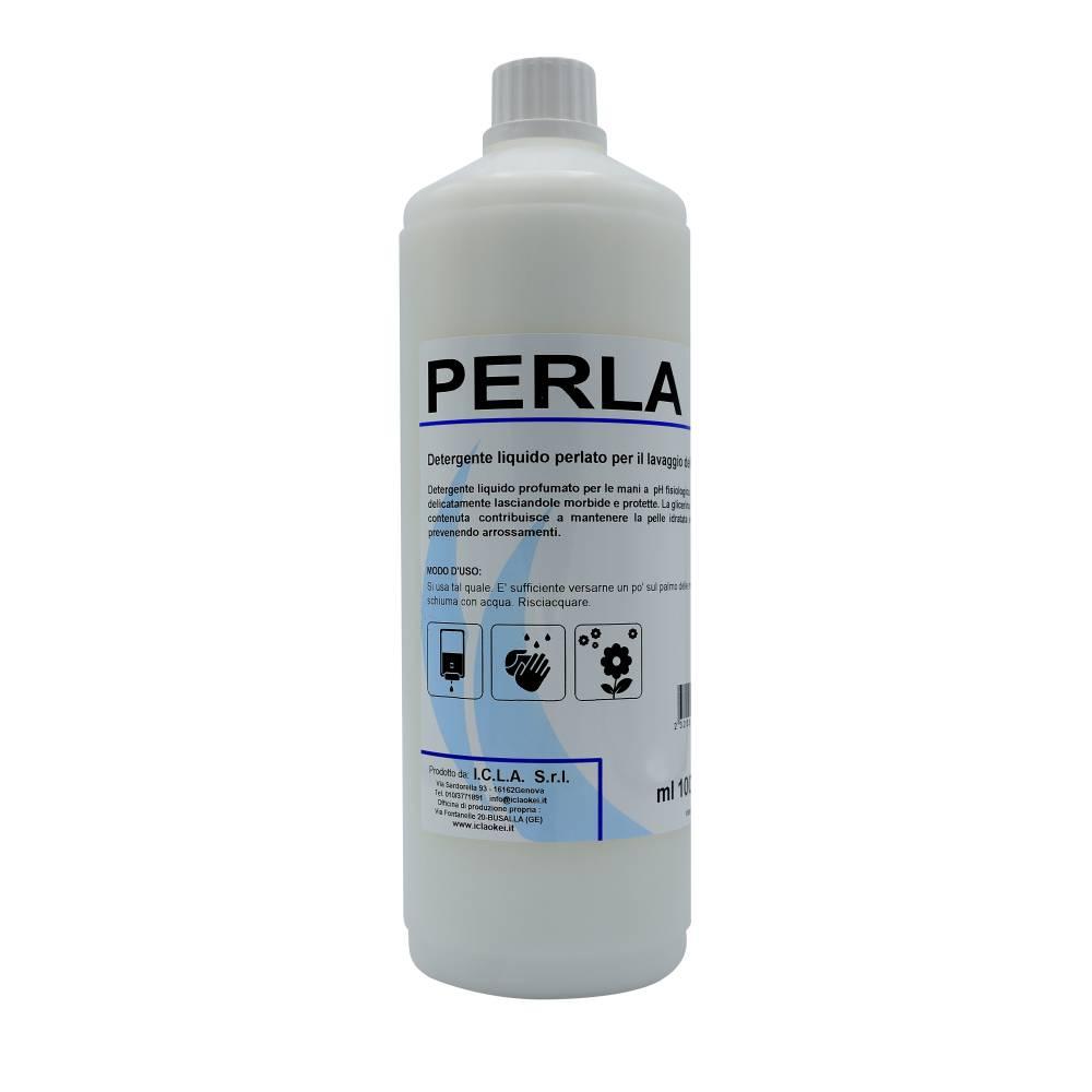 I.C.L.A. OKEI - PERLA - Igiene personale  1kg - Detergente liquido profumato per le mani a pH fisiologico. Deterge delicatamente lasciando le mani morbide e protette. La glicerina vegetale contenuta contribuisce a mantenere la pelle idratata e fresca