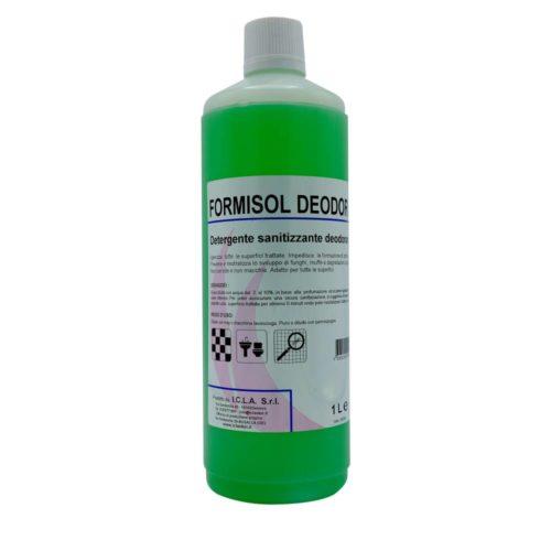 I.C.L.A. OKEI - FORMISOL DEODOR CITRO - Detergenti igienizzanti  1kg - Detergente sanificante profumato attivo nei confronti di microrganismi di vario tipo: batteri Gram+ e Gram-