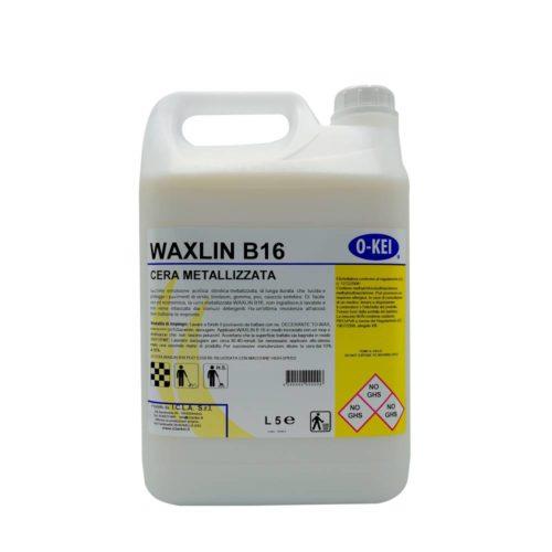 I.C.L.A. OKEI - WAXLIN B16 - Cere per pavimenti  5kg - Emulsione acrilica stirolica metallizzata