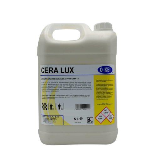 I.C.L.A. OKEI - CERA LUX - Cere per pavimenti  5kg - Prodotto di manutenzione a base di cere polietileniche