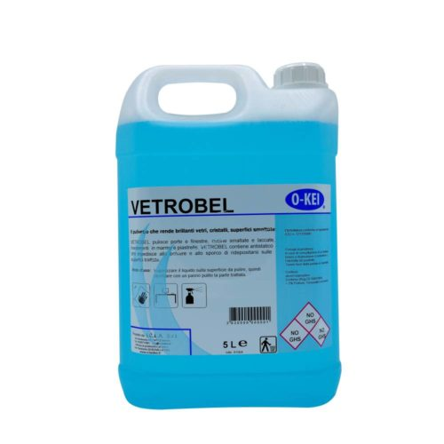 I.C.L.A. OKEI - VETROBEL - Detergenti manutentori  5kg - Detergente specifico per la pulizia di vetri