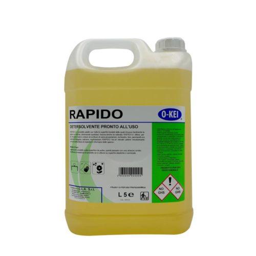 I.C.L.A. OKEI - RAPIDO - Sgrassatori e speciali  5kg - Detersolvente energico