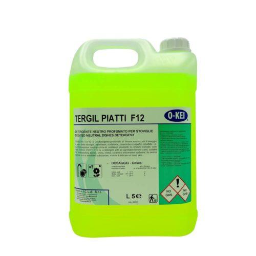I.C.L.A. OKEI - TERGIL PIATTI F12 - Detergenti per stoviglie  5kg - Detergente concentrato
