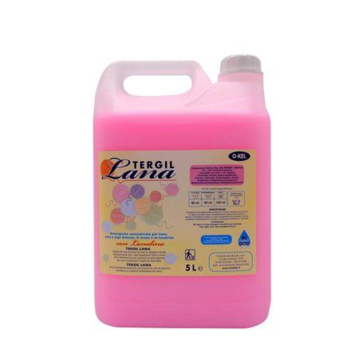 I.C.L.A. OKEI - TERGIL LANA - Detergenti per bucato  5kg - Detergente liquido concentrato per lana