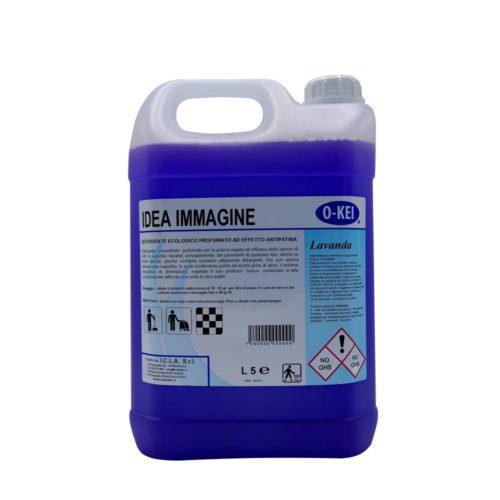I.C.L.A. OKEI - IDEA IMMAGINE LAVANDA - Detergenti manutentori  5kg - Detergente concentrato profumato per la pulizia rapida ed efficace dello sporco di tutte le superfici lavabili