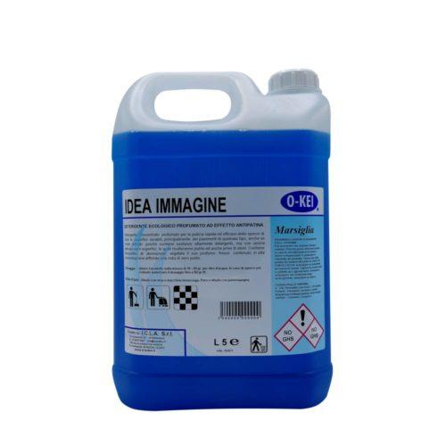I.C.L.A. OKEI - IDEA IMMAGINE MARSIGLIA - Detergenti manutentori  5kg - Detergente concentrato profumato per la pulizia rapida ed efficace dello sporco di tutte le superfici lavabili