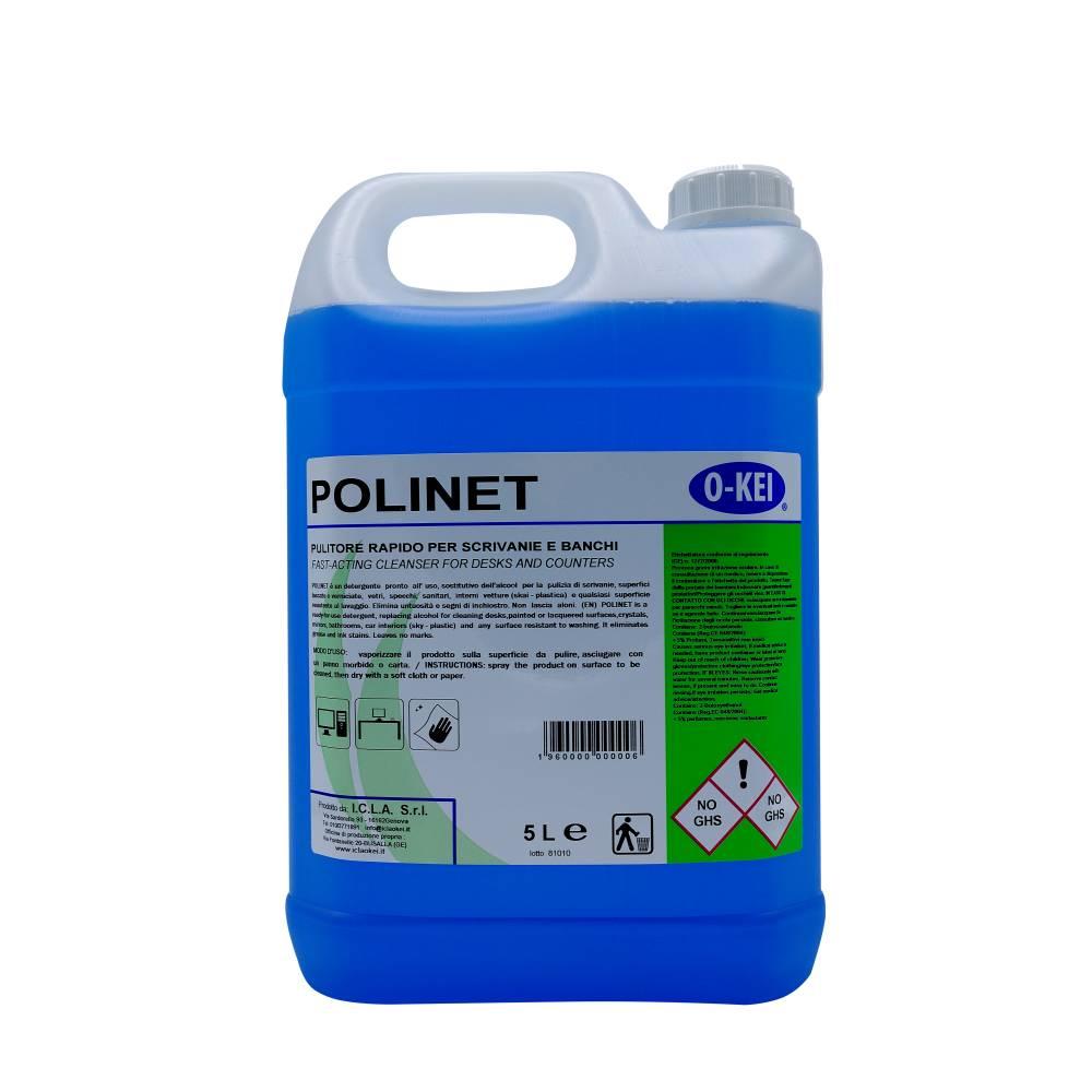 I.C.L.A. OKEI - POLINET - Sgrassatori e speciali  5kg - Detergente pronto all'uso