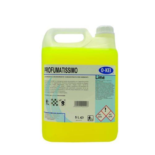 I.C.L.A. OKEI - PROFUMATISSIMO LIME - Detergenti manutentori  5kg - Detergente deodorante a lunga persistenza per pulire e profumare tutte le superfici lavabili