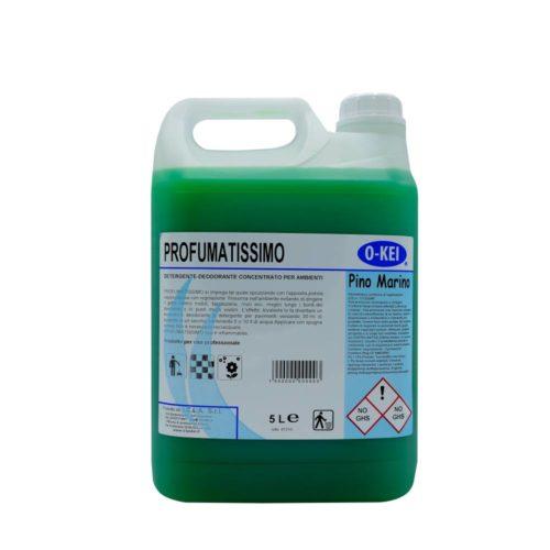 I.C.L.A. OKEI - PROFUMATISSIMO PINO MARINO - Detergenti manutentori  5kg - Detergente deodorante a lunga persistenza per pulire e profumare tutte le superfici lavabili