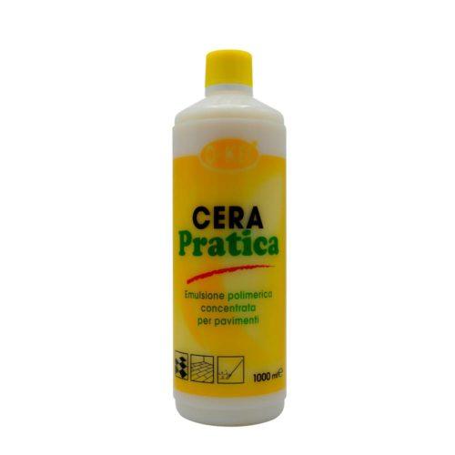 I.C.L.A. OKEI - CERA PRATICA - Cere per pavimenti  1kg - Cera protettiva poliacrilica autolucidante metallizzata per il trattamento delle superfici dure sulle quali forma un film