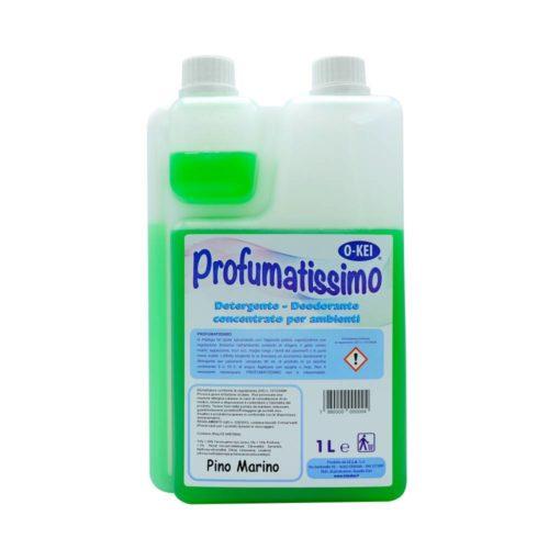 I.C.L.A. OKEI - PROFUMATISSIMO PINO MARINO - Detergenti manutentori  1kg - Detergente deodorante a lunga persistenza per pulire e profumare tutte le superfici lavabili