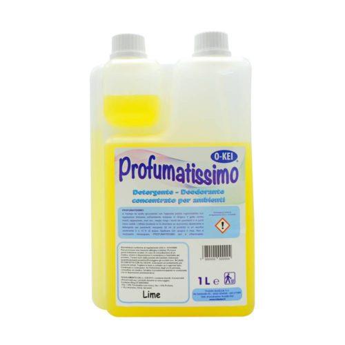 I.C.L.A. OKEI - PROFUMATISSIMO LIME - Detergenti manutentori  1kg - Detergente deodorante a lunga persistenza per pulire e profumare tutte le superfici lavabili