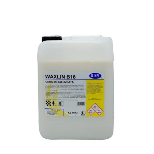 I.C.L.A. OKEI - WAXLIN B16 - Cere per pavimenti  10kg - Emulsione acrilica stirolica metallizzata