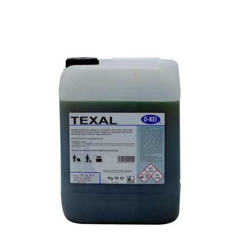 I.C.L.A. OKEI - TEXAL - Pulizia di fondo  10kg - Detergente alcalino energico concentrato per pulizie industriali