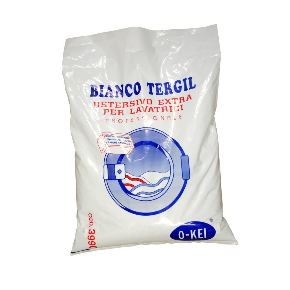 I.C.L.A. OKEI - BIANCO TERGIL - Detergenti per bucato  10kg - Detersivo in polvere atomizzato completo