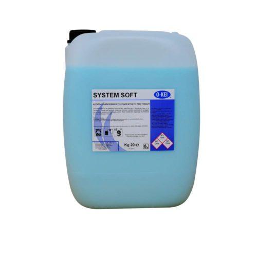 I.C.L.A. OKEI - SYSTEM SOFT - Detergenti per bucato  20kg - Additivo ammorbidente concentrato specifico per il bucato a mano e in lavatrice. Rende più facile la stiratura