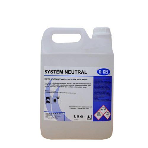I.C.L.A. OKEI - SYSTEM NEUTRAL - Detergenti per bucato  5kg - Agente neutralizzante liquido per biancheria.